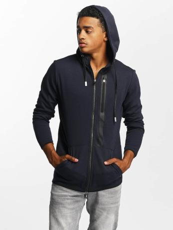 only-sons-manner-zip-hoodie-onsvinn-in-blau