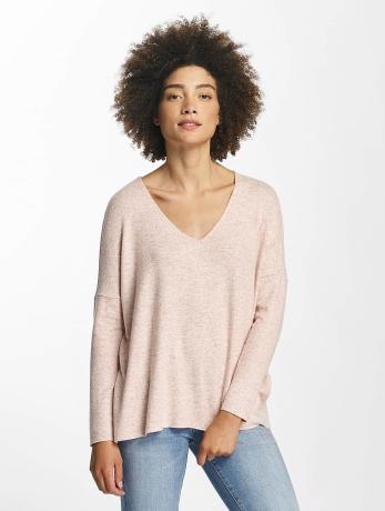only-frauen-pullover-onlmaye-v-neck-in-rosa