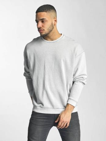 def-manner-pullover-plain-in-grau