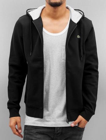 lacoste-manner-zip-hoodie-classic-in-schwarz