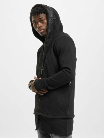 de-ferro-manner-zip-hoodie-streets-in-schwarz