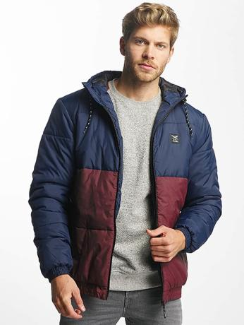 iriedaily-manner-winterjacke-stagger-hooded-in-blau