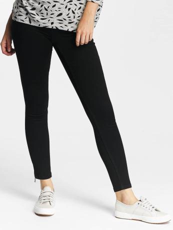 only-frauen-skinny-jeans-onlultimate-zip-soft-in-schwarz