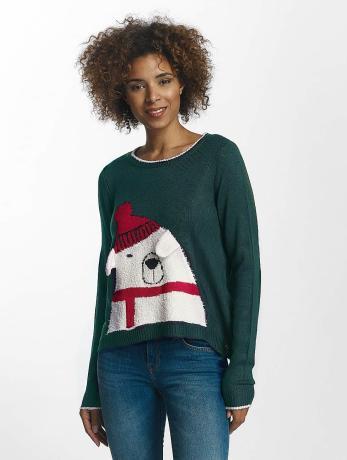 only-frauen-pullover-onlx-in-grun