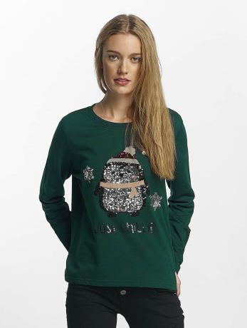 only-frauen-pullover-onlcookie-in-grun