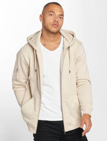 def-manner-zip-hoodie-star-in-beige