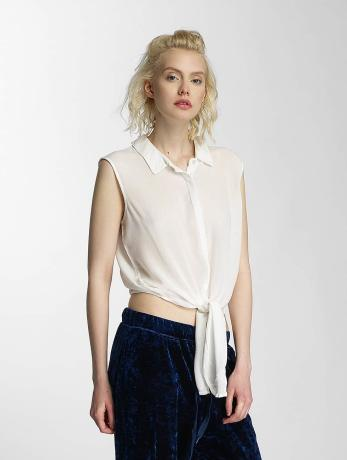 noisy-may-nmevelyn-tie-short-shirt-snow-white