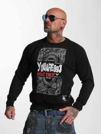 yakuza-manner-pullover-no-matter-in-schwarz