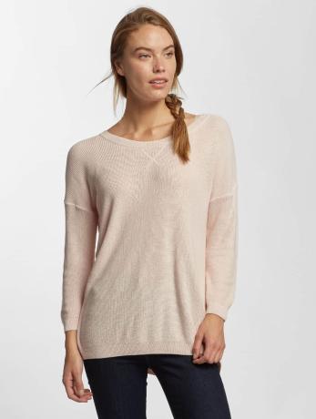mavi-jeans-frauen-pullover-crew-neck-in-rosa