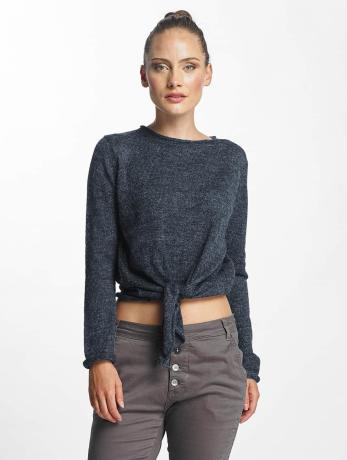 pieces-frauen-longsleeve-pcnanna-in-blau