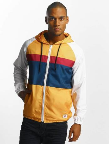 ecko-unltd-manner-ubergangsjacke-windbreaker-capskirring-in-gelb