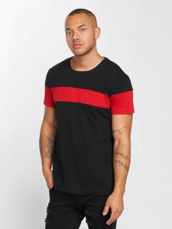 def-manner-t-shirt-stripe-in-schwarz