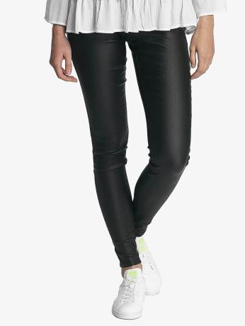 pieces-frauen-legging-pcskin-in-schwarz