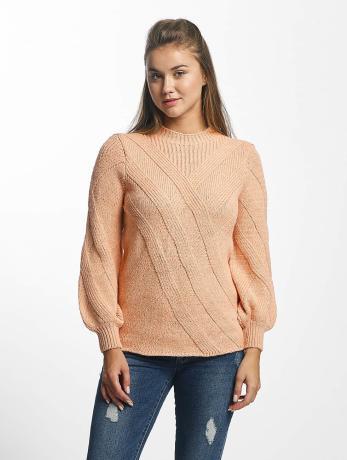 only-frauen-pullover-onlluv-in-rosa