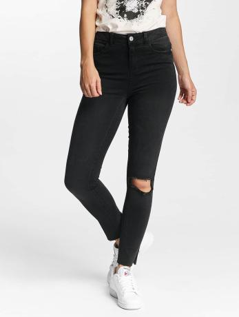 noisy-may-frauen-slim-fit-jeans-nmlexi-in-schwarz