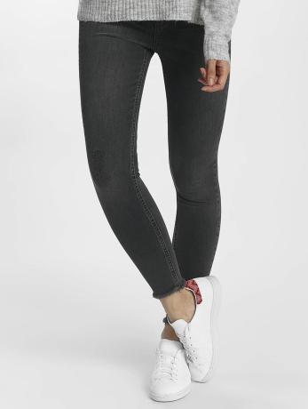 pieces-frauen-skinny-jeans-pcfive-delly-in-grau