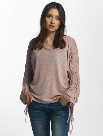 pieces-frauen-longsleeve-pcjosefine-in-rosa