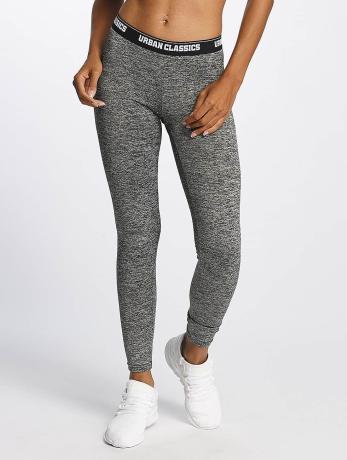 urban-classics-active-melange-logo-leggings-charcoal-white