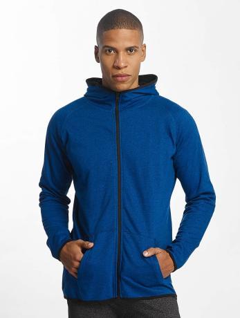 urban-classics-manner-zip-hoodie-active-melange-in-blau