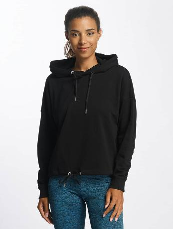 urban-classics-frauen-hoody-oversized-gathering-in-schwarz