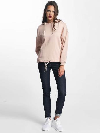 urban-classics-frauen-hoody-kimono-in-rosa