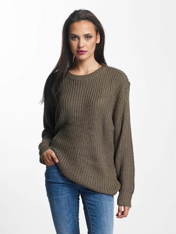 urban-classics-basic-sweater-army-green