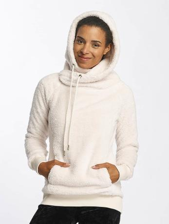 urban-classics-frauen-hoody-long-teddy-in-beige