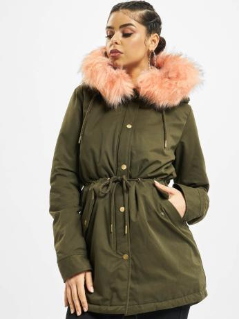 urban-classics-frauen-winterjacke-peached-in-olive