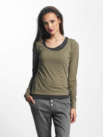 urban-classics-two-colored-longsleeve-army-green