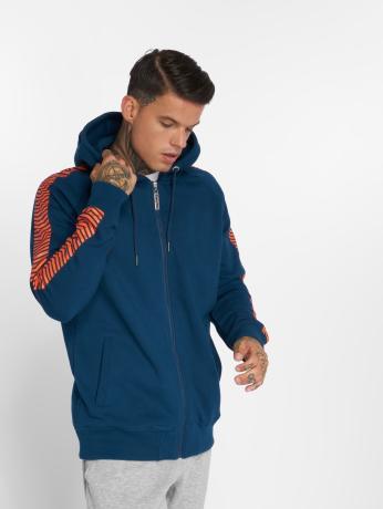 thug-life-manner-zip-hoodie-blazer-in-blau