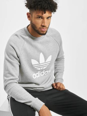 adidas-originals-manner-pullover-trefoil-in-grau