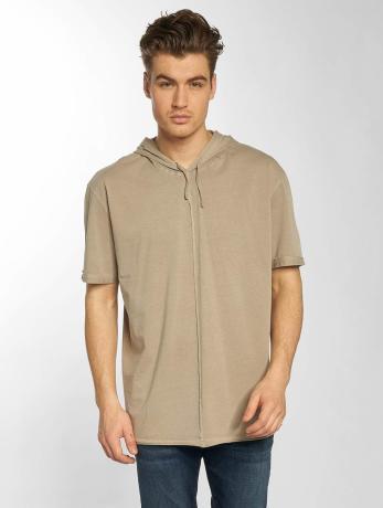 mavi-jeans-manner-t-shirt-hooded-in-beige