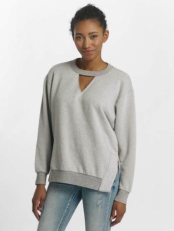 mavi-jeans-frauen-pullover-cut-detailed-in-grau