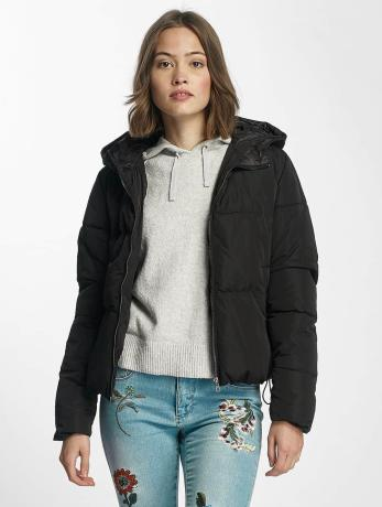 only-frauen-puffer-jacket-onlcille-quilted-in-schwarz
