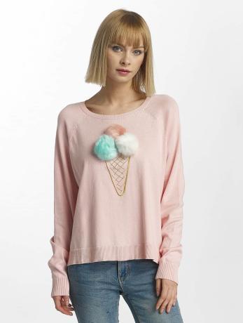 only-frauen-pullover-onlvally-in-rosa