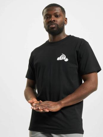 mister-tee-manner-t-shirt-fist-in-schwarz