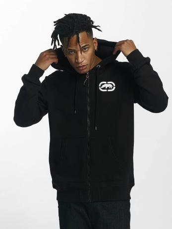 ecko-unltd-manner-zip-hoodie-base-in-schwarz