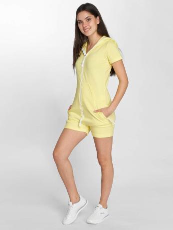 onepiece-frauen-jumpsuit-fitted-short-in-gelb