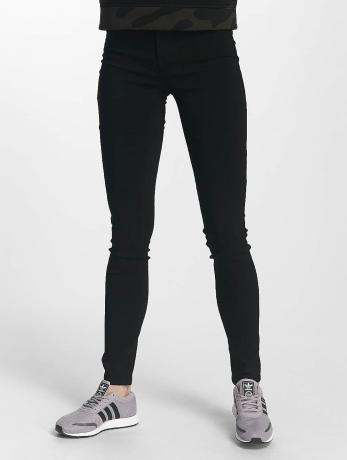 pieces-frauen-skinny-jeans-pchigh-in-schwarz