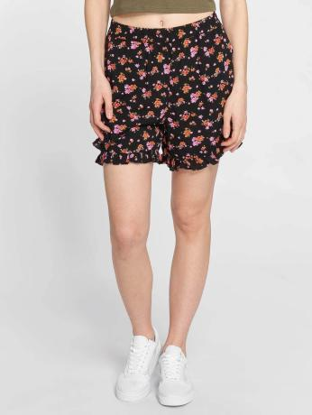 noisy-may-frauen-shorts-nmewi-high-waist-in-schwarz