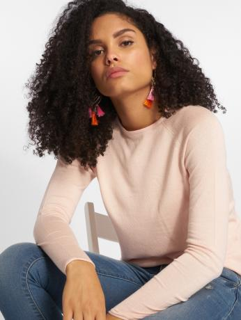 only-frauen-pullover-onlmila-lacy-knit-in-rosa