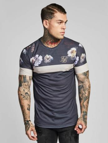 sik-silk-manner-t-shirt-curved-hem-sports-in-grau