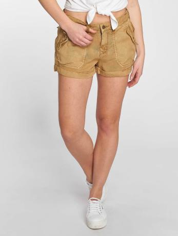 khujo-frauen-shorts-patinka-in-orange