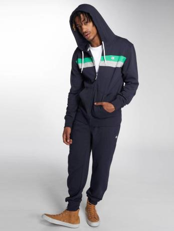 champion-athletics-manner-zip-hoodie-full-in-blau