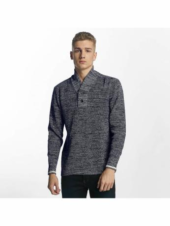 g-star-manner-pullover-dadin-shawl-collar-in-blau