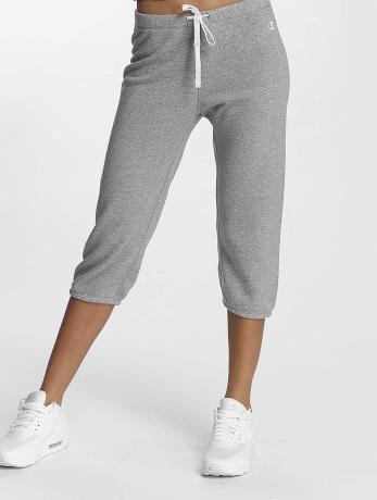 champion-athletics-frauen-jogginghose-apparel-3-4-elastic-cuff-in-grau