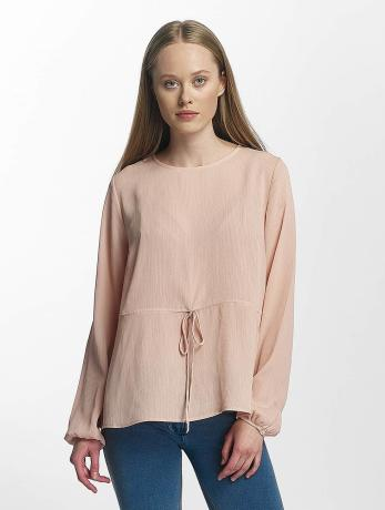 pieces-frauen-longsleeve-pcmacy-in-rosa