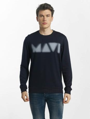 mavi-jeans-manner-pullover-printed-in-blau