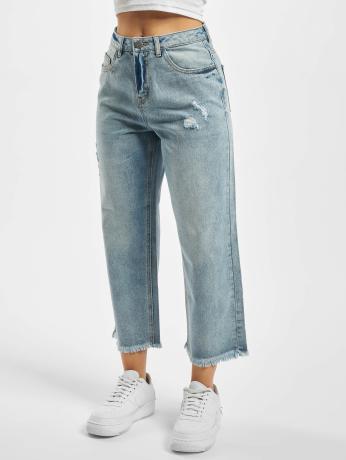 noisy-may-frauen-loose-fit-jeans-nmpaige-in-blau