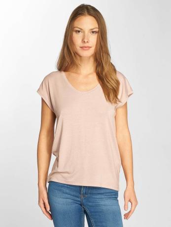 only-frauen-t-shirt-onlsannie-plain-in-rosa